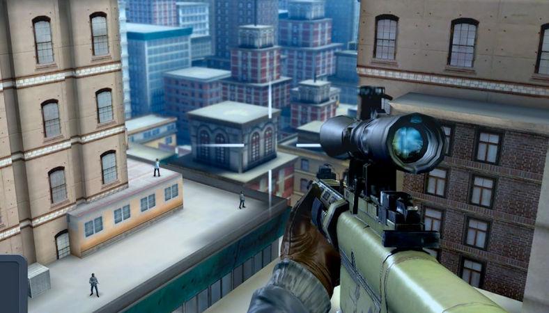 Sniper 3D Assassin mod - много денег