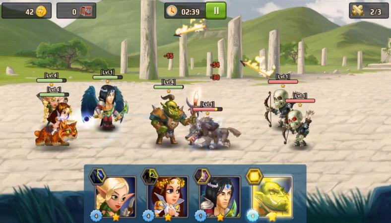 Battle Arena Heroes Adventure v.1.7.1401