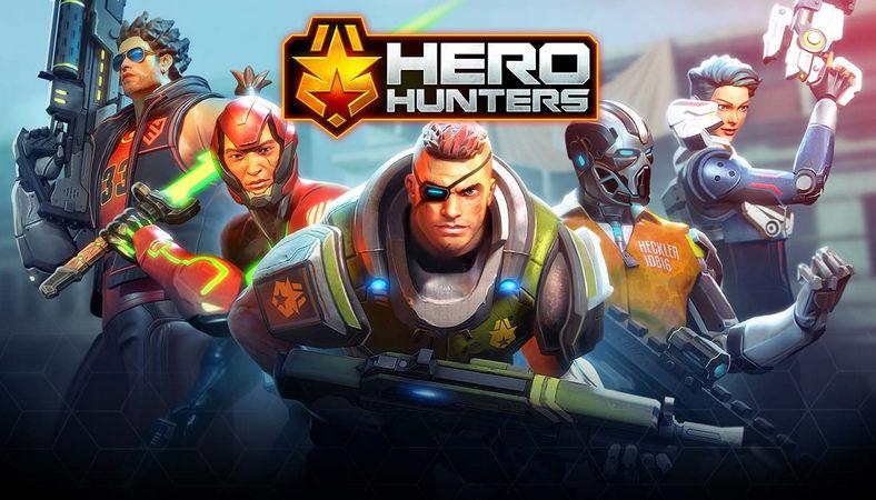 Hero Hunters на Андроид скачать бесплатно