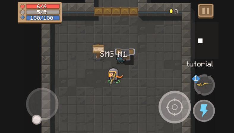 Soul Knight взломанная на Андроид скачать бесплатно