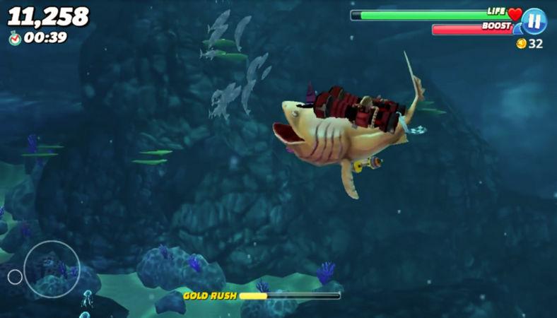 hungry shark world скачать игру бесплатно