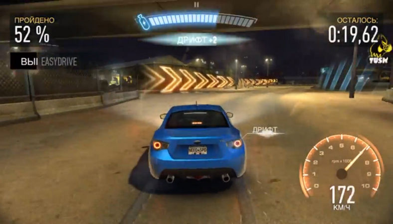 Need for Speed No Limits на Андроид